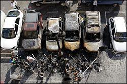 Пожар в Валенсии