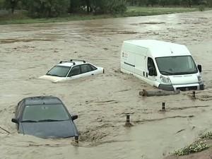 Наводнение в Альмодовар дель Кампо