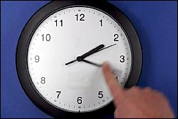 Перевод часов на час