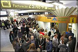 Забастовка в аэропорту Испании