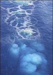 извержение подводного вулкана Эль Иерро