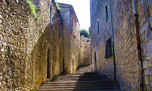 Улицы старого города Жироны