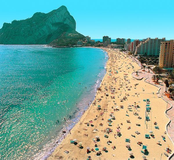 Пляж Дении